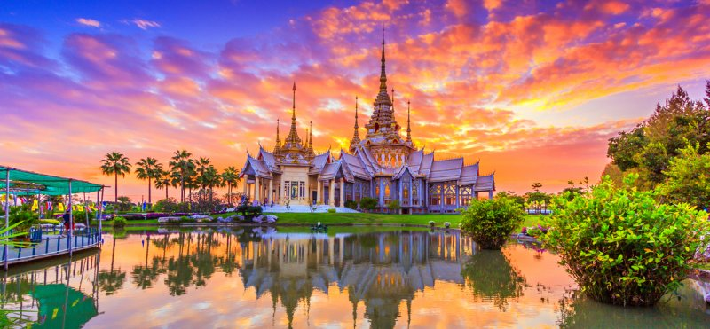 Best cities for tourists in Thailand